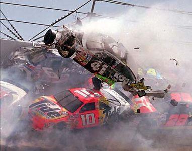 Nascar Staten Island Crash on Nascar Daytona Wreck