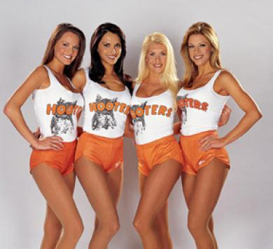 Hooters, of course ...